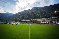 Stadium Andorra la Vella during practice session before football match between NK Domzale and FC Lusitanos Andorra in second leg of UEFA Europa league qualifications on July 6, 2016 in Andorra la Vella, Andorra. Photo by Ziga Zupan / Sportida
