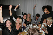 Sharleen Spiteri,  Kiera Parks and Jamie Dornan amongst others playing bingo. An Evening At Sanderson,  Sanderson Hotel, 50 Berners Street, London, W1, Charity reception now in its seventh year raising money for CLIC Sargent.15 May 2007. -DO NOT ARCHIVE-© Copyright Photograph by Dafydd Jones. 248 Clapham Rd. London SW9 0PZ. Tel 0207 820 0771. www.dafjones.com.