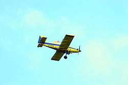 29 Jul 2011: crop duster aircraft in McLean County Illinois, USA