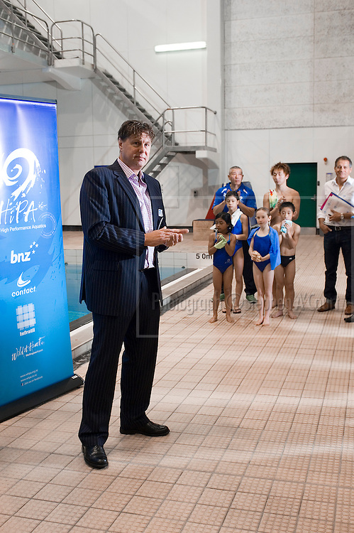 Wellington High Performance Aquatics & Swimming New Zealand host a function for sponsors, at the Kilbirnie Regional Aquatic Centre.