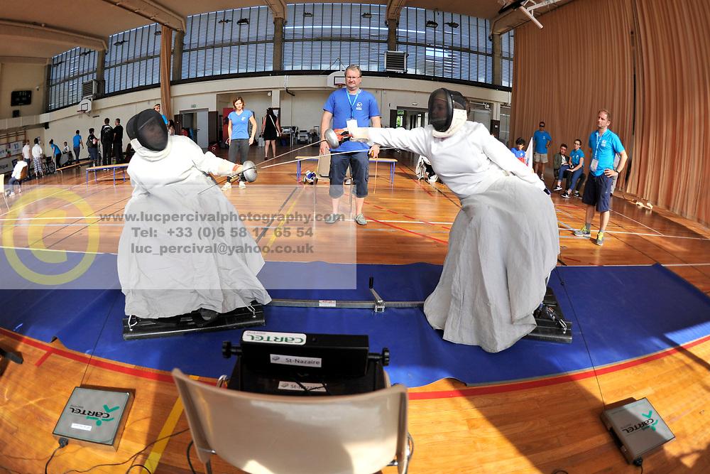 L'Escrime aux Jeux Nationaux de L'Avenir