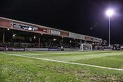 Booth Crescent stadium during the Sky Bet League 2 match between York City and Exeter City at Bootham Crescent, York, England on 16 February 2016. Photo by Simon Davies.