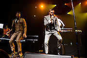 Photos of Jidenna performing live at TIDAL Live at Webster Hall, NYC. September 30, 2015. Copyright © Matthew Eisman. All Rights Reserved