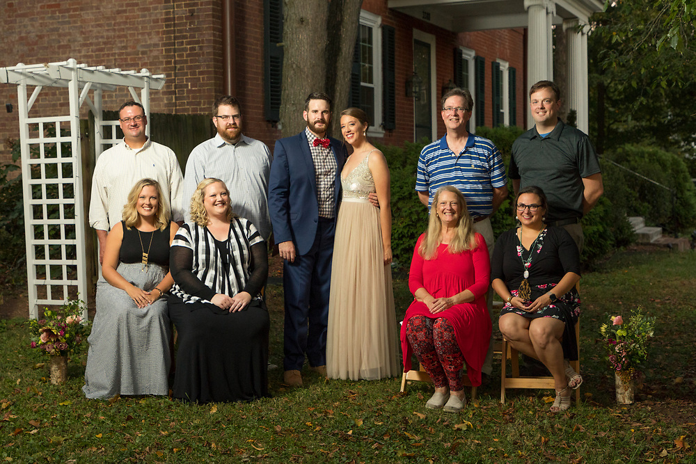 LEXINGTON, Ky., -- Claire Arthur and Nathan Jennings were married a few months ago and celebrated a lawn party with their family, Saturday, Oct. 14, 2017 at the The Hart-Featherston House in LEXINGTON.
