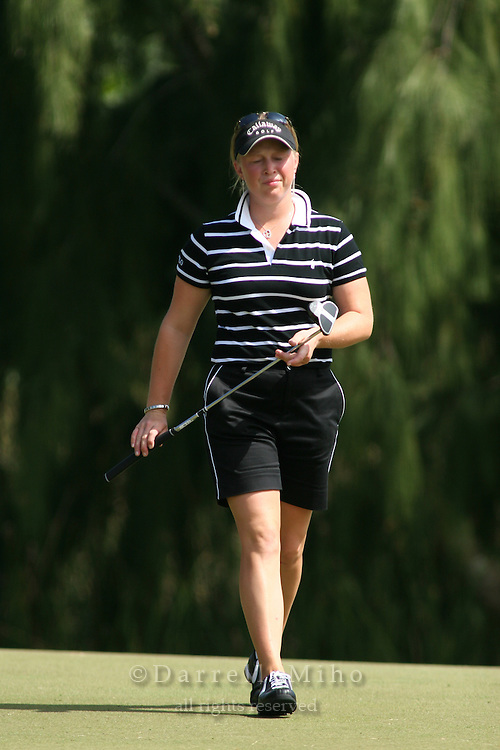 February 17, 2006; Kahuku, HI - Morgan Pressel during the second round at the LPGA SBS Open at Turtle Bay Resort...Mandatory photo credit: Darrell Miho.© Darrell Miho