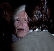 Andy Warhol at Studio 54, New York, NY