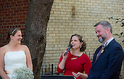 Brett and Jenn's wedding day in Washington, D.C. on Friday,  October 14, 2016.