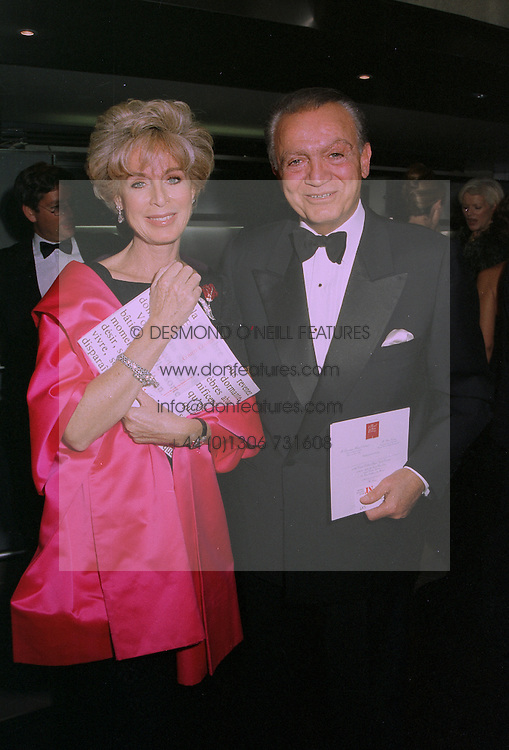 MR & MRS WAFIC SAID he is the multi millionaire Middle Eastern businessman, at a reception in London on 30th September 1997.MBT 66