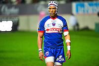Gio APLON - 14.03.2015 - Stade Francais / Grenoble -  20eme journee de Top 14<br /> Photo : David Winter  / Icon Sport<br /> <br />   *** Local Caption ***