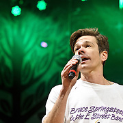 "COLUMBIA, MD - April 28th, 2012 -  Nate Ruess of fun. performs at the 2012  Sweetlife Food and Music Festival at Merriweather Post Pavilion in Columbia, MD. The band's hit ""We Are Young"" recently reached number one on the U.S. Billboard Hot 100 and Digital Songs charts. (Photo by Kyle Gustafson/For The Washington Post)"