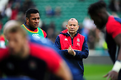 England Rugby Head Coach Eddie Jones - Mandatory byline: Patrick Khachfe/JMP - 07966 386802 - 27/02/2016 - RUGBY UNION - Twickenham Stadium - London, England - England v Ireland - RBS Six Nations.