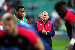 England Rugby Head Coach Eddie Jones - Mandatory byline: Patrick Khachfe/JMP - 07966 386802 - 27/02/2016 - RUGBY UNION - Twickenham Stadium - London, England - England v Ireland - RBS Six Nations.