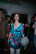 Anthea Turner, Cast change for Wicked. Apollo Victoria theatre. After party at Park Plaza Victoria. 12 April 2007.  -DO NOT ARCHIVE-© Copyright Photograph by Dafydd Jones. 248 Clapham Rd. London SW9 0PZ. Tel 0207 820 0771. www.dafjones.com.