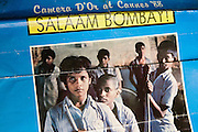 Shaifq Syed, 34, (left) has been the main character of the Cannes' Camera D'Or 1988 winner Salaam Bombay, but after the movie he failed to become a star, fell back into poverty and lived on the streets for years before he became a rickshaw (tuk-tuk) driver in his home city of Bangalore, Karnataka State, India. He still keeps the old poster of the movie and much of the media coverage from his successful times as an actor.