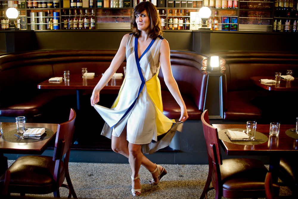 photo by Matt Roth.Assignment ID: 30129863A..Svetlana Legetic, 32, is the impresario behind Brightest Young Things, an online D.C. lifestyle magazine that also throws crazy themed parties geared towards twenty and thirty-somethings. The company is expanding to New York City. Ms. Legetic is photographed at The Jack Rose Dining Saloon in the Adams Morgan D.C. neighborhood Thursday, August 9, 2012.