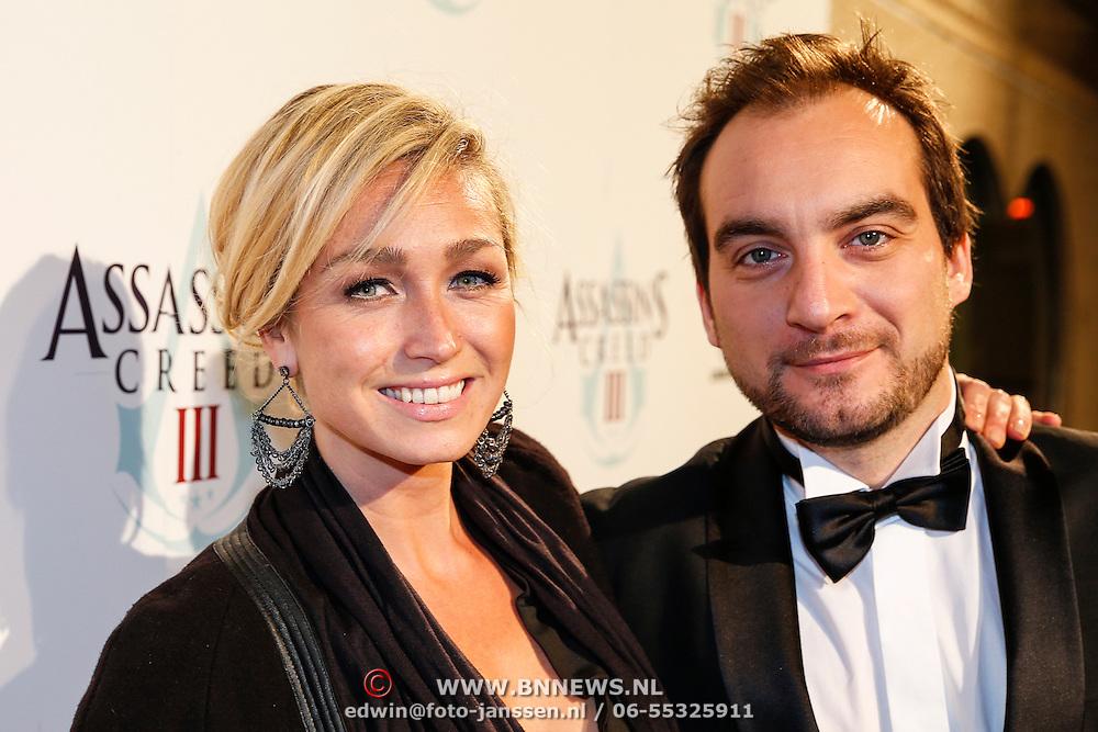 NLD/Amsteram/20121025- Lancering Assassin's Creed game, Do, Dominique van Hulst en ???..