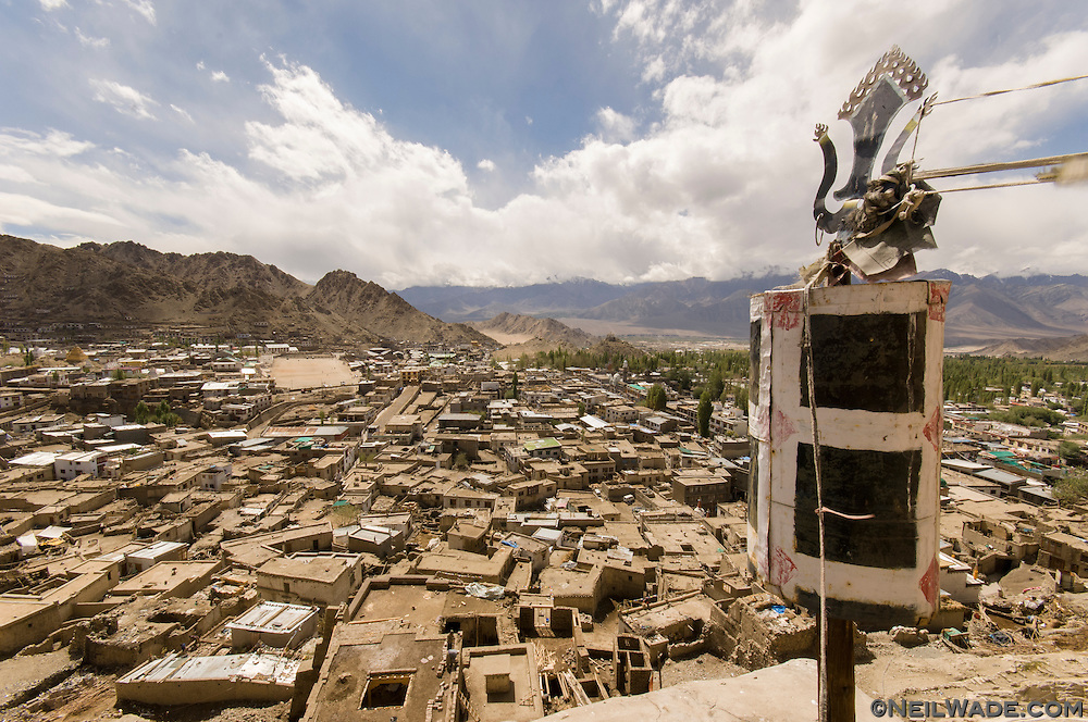 A look over Old Town Leh, from Namgyal Tsemo Gompa.