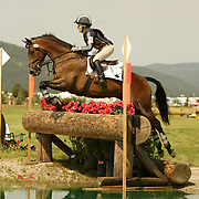 Hawley Bennett (CAN) and Gin N Juice at the The Event at Rebecca Farm in Kalispell, Montana.