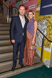 Juliet Angus and Gregor Angus at the Fabulous Fund Fair in aid of Natalia Vodianova's Naked Heart Foundation in association with Luisaviaroma held at The Round House, Camden, London England. 18 February 2019.