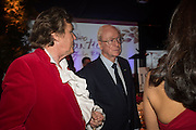 THEO FENNELL; SIR MICHAEL CAINE; , The Neo Romantic Art Gala in aid of the NSPCC. Masterpiece. Chelsea. London.  30 June 2015