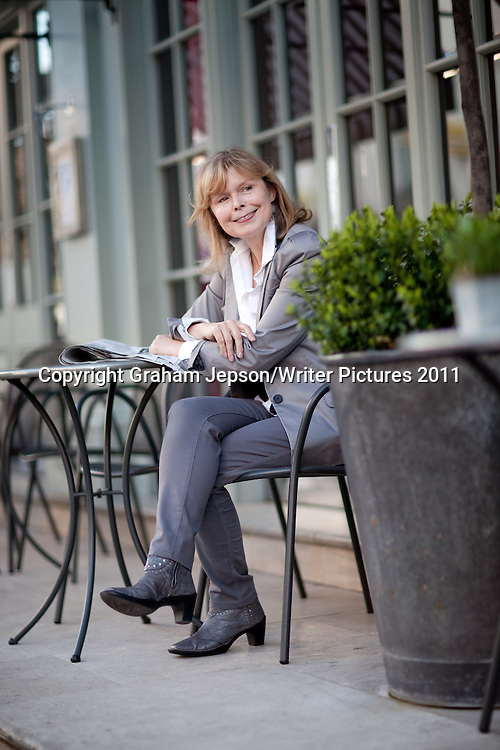 Journalist and author Annalena McAfee.  Photographed at the Charlotte Street hotel