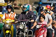 Commuters, Bangkok, Thailand