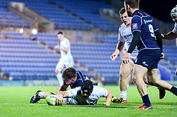 Will Norton  of Exeter Chiefs Rugby Academy - Ryan Hiscott/JMP - 07/11/2018 - SPORT - Sandy Park - Exeter, England - Exeter Chiefs Academy v Royal Navy