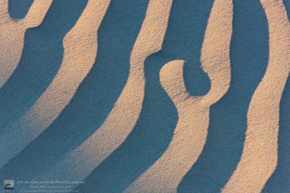 Sand pattern abstract - Death Valley National Park, California