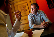 Christophe Darbellay ist Walliser Nationalrat und seit 2005 Präsident der CVP Schweiz. Christophe Darbellay, président du PDC suisse depuis 2005 et conseiller national depuis 2008. 100 Jahre CVP / 100 ans PDC.  © Romano P. Riedo | fotopunkt.ch.