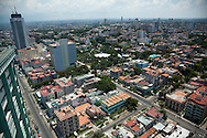 The tallest building in Cuba, La Torre, The Tower in Havana Vedado. It has a restaurant and bar on the top that offers views across the city in all directions.
