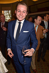 Archie Manners at a party to celebrate the publication of Resolution by The Duke of Rutland and Emma Ellis held at Trinity House, Tower Hill, London England. 10 April 2017.