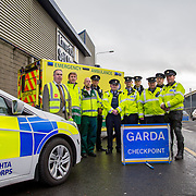 14.11.2016          <br /> Major winter safety and wellbeing campaign launched by Limericks Public Services. <br /> <br /> Limerick City and County Council, the HSE and An Garda Siochana working together on the Dock Road Limerick. Picture: Alan Place