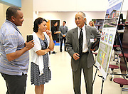 Mandarin Chinese Language Immersion Magnet School bond community meeting at the School at St. George Place, July 28, 2015.