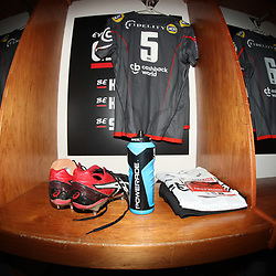 DURBAN, SOUTH AFRICA - APRIL 21: General views of Powerade during the Super Rugby match between Cell C Sharks and DHL Stormers at Jonsson Kings Park on April 21, 2018 in Durban, South Africa. (Photo by Steve Haag/Gallo Images)
