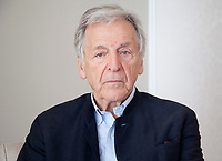 Venice, Italy, 31st August 2019, director Costa-Gavras at the photocall for the film Adults in the Room at the 76th Venice Film Festival, Excelsior Hotel. Credit: Doreen Kennedy