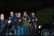 paparazzi, Halloween in Golders Green, London, 31 October 2014