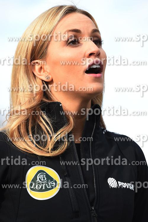 26.02.2015, Circuit de Catalunya, Barcelona, ESP, FIA, Formel 1, Testfahrten, Barcelona, Tag 1, im Bild Carmen Jorda (ESP) Lotus F1 Team development driver // during the Formula One Testdrives, day one at the Circuit de Catalunya in Barcelona, Spain on 2015/02/26. EXPA Pictures &copy; 2015, PhotoCredit: EXPA/ Sutton Images/ Mark Images<br /> <br /> *****ATTENTION - for AUT, SLO, CRO, SRB, BIH, MAZ only*****