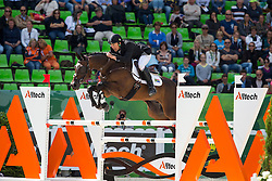 Alexander Peternell, (RSA), Asih - Jumping Eventing - Alltech FEI World Equestrian Games™ 2014 - Normandy, France.<br /> © Hippo Foto Team - Leanjo De Koster<br /> 31-08-14