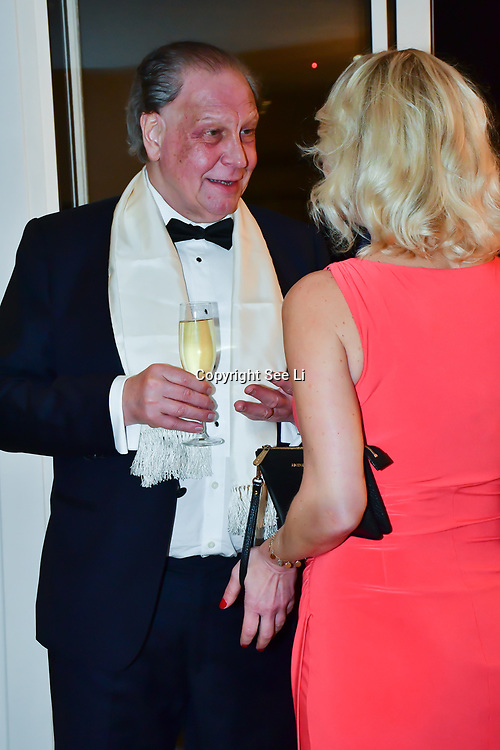 Inge Neaves, Michael Gelard attend Rochay High Society Soiree with Jovoy at Westbury Mayfair grafton suite on 21 November 2019, London, UK.