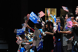 Democratic presidential candidate Hillary Clinton attended an April 20, 2016 rally at the Fillmore in Philadelphia Pennsylvania. Clinton visits Philadelphia ahead of the April 26, Pennsylvania Primary and one day after winning the New York Primary.