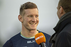 November 3, 2018 - Galway, Ireland - Eoin Griffin of Connacht during the Guinness PRO14 match between Connacht Rugby and Dragons at the Sportsground in Galway, Ireland on November 3, 2018  (Credit Image: © Andrew Surma/NurPhoto via ZUMA Press)