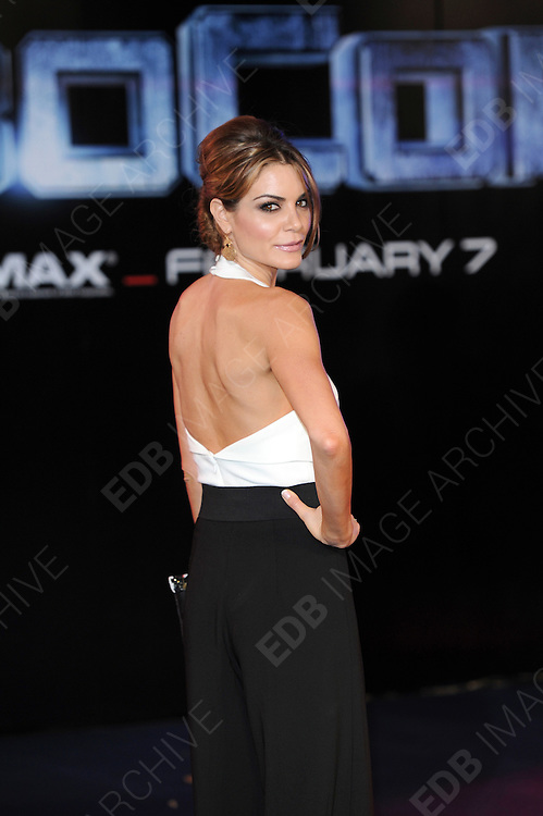 05.FEBRUARY.2014. LONDON<br /> <br /> CODE - PM<br /> <br /> THE WORLD PREMIERE OF 'ROBOCOP' AT BFI IMAX, WATERLOO, LONDON<br /> <br /> BYLINE: EDBIMAGEARCHIVE.CO.UK<br /> <br /> *THIS IMAGE IS STRICTLY FOR UK NEWSPAPERS AND MAGAZINES ONLY*<br /> *FOR WORLD WIDE SALES AND WEB USE PLEASE CONTACT EDBIMAGEARCHIVE - 0208 954 5968*