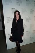 SUZANNE TROCME, Wallpaper* Design Awards. Wilkinson Gallery, 50-58 Vyner Street, London E2, 14 January 2010 *** Local Caption *** -DO NOT ARCHIVE-&copy; Copyright Photograph by Dafydd Jones. 248 Clapham Rd. London SW9 0PZ. Tel 0207 820 0771. www.dafjones.com.<br /> SUZANNE TROCME, Wallpaper* Design Awards. Wilkinson Gallery, 50-58 Vyner Street, London E2, 14 January 2010