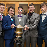 Cooraclare Minor Football Players Diarmuid Donnellan, Sean McNamara, Fergal Donnellan, Colin McNamara and Davy Martin