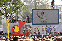 Team Tinkoff Saxo (RUS), CONTADOR Alberto (ESP), SAGAN Peter (SVK), during the 102nd Tour de France, Team Presentation, in Utrecht, Netherlands, on July 2, 2015 - Photo Tim de Waele / DPPI