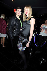 Left to right, JASMINE GUINNESS and JADE PARFIT at the launch party of the Nokia 5800 phone held at PUNK 14 Soho Street, London W1 on 27th January 2009.