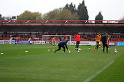 The Wham Stadium  before the The FA Cup match between Accrington Stanley and York City at the Fraser Eagle Stadium, Accrington, England on 7 November 2015. Photo by Pete Burns.