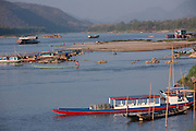 On the Mekong River near Luang Prabang, Laos.