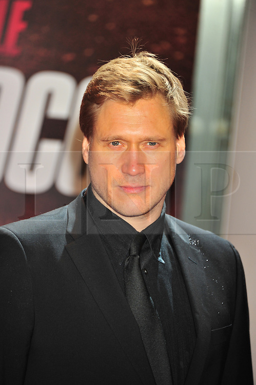 © Licensed to London News Pictures. 13/12/2011. London, England. Samuli Edelmann attends the UK premiere of Mission Impossible - Ghost Protocol at the IMAX in London .  Photo credit : ALAN ROXBOROUGH/LNP