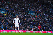 Leeds United forward Patrick Bamford (9) in action during the EFL Sky Bet Championship match between Leeds United and Bristol City at Elland Road, Leeds, England on 15 February 2020.